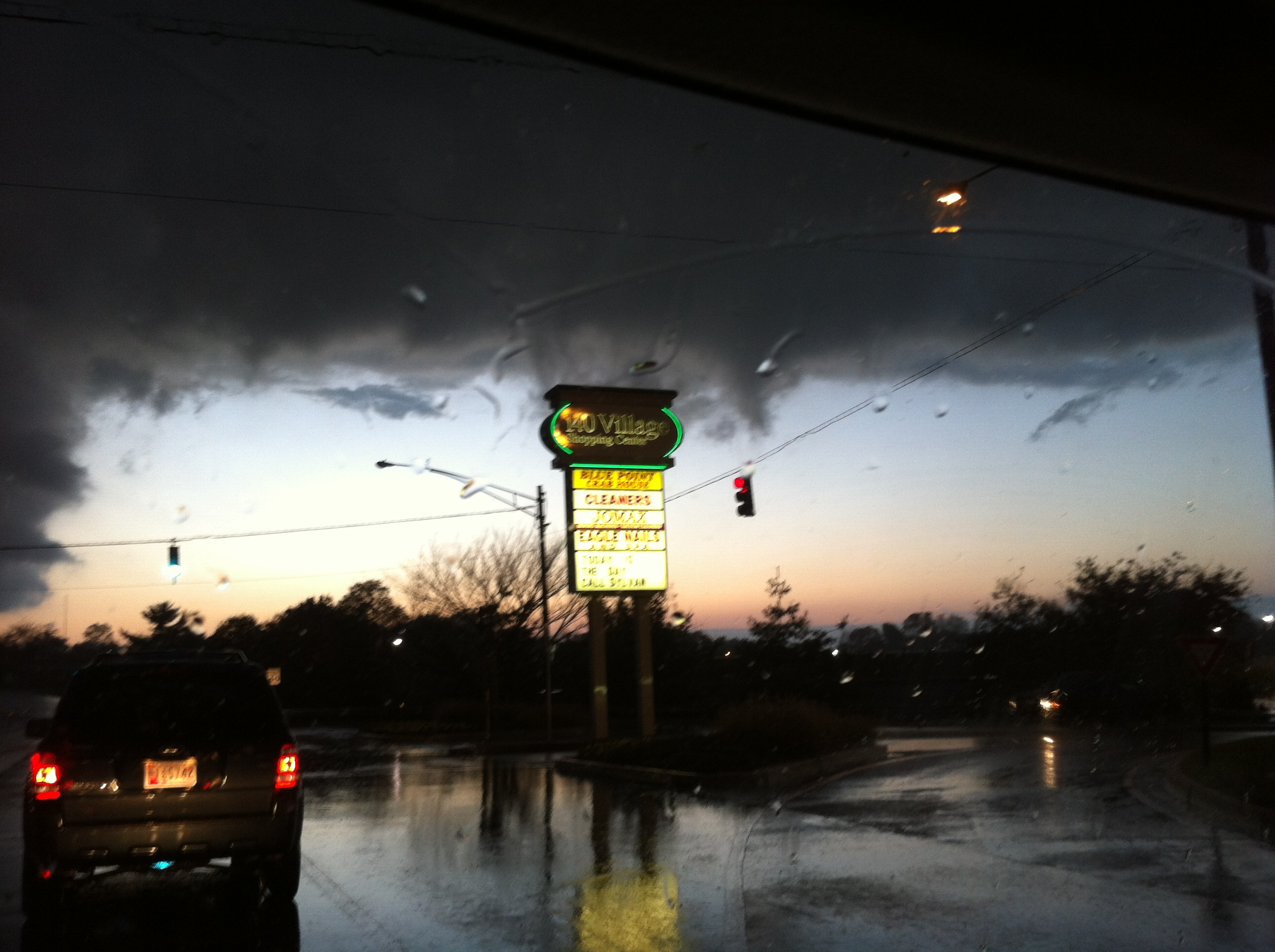 Favorite Weather Picture - taken in Westminster, MD with a storm rolling in