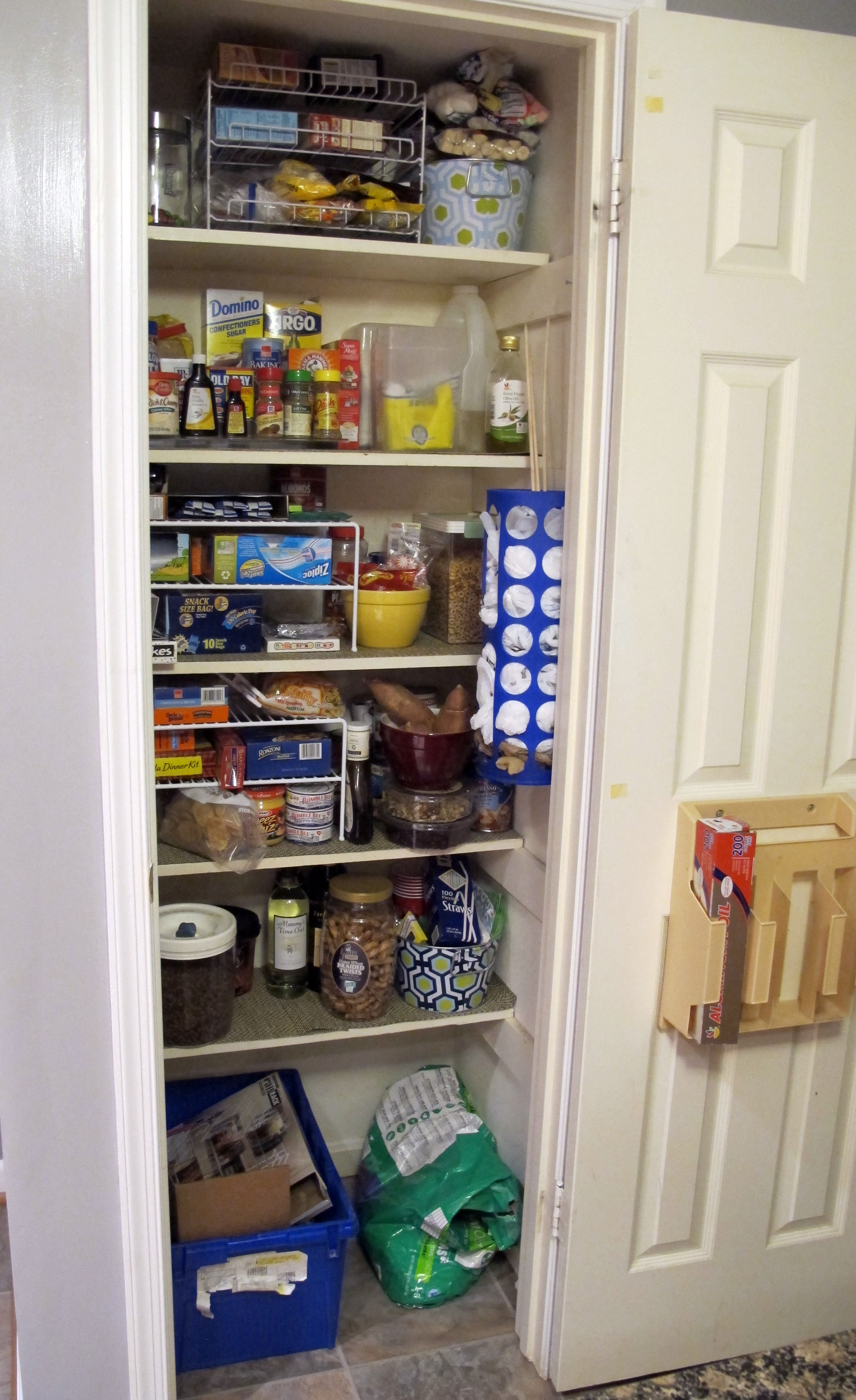 after - full pantry