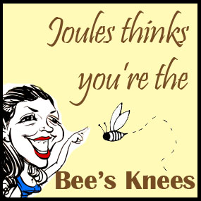 joules thinks bees knees