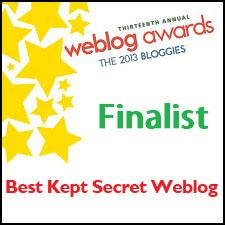 2013 Bloggies Finalist