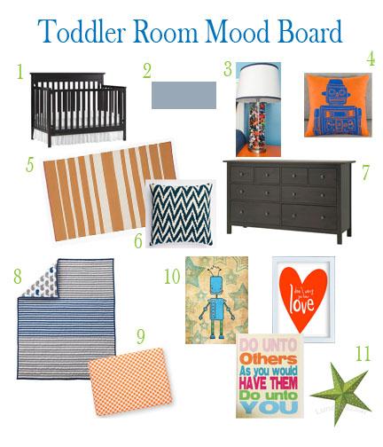 toddler room board