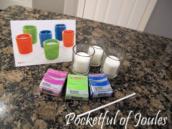 Clay candle Brit Kit