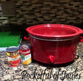 crockpot meal - ingrediants