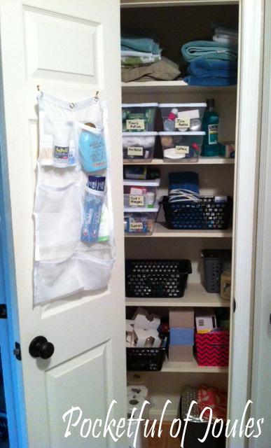 linen closet - after