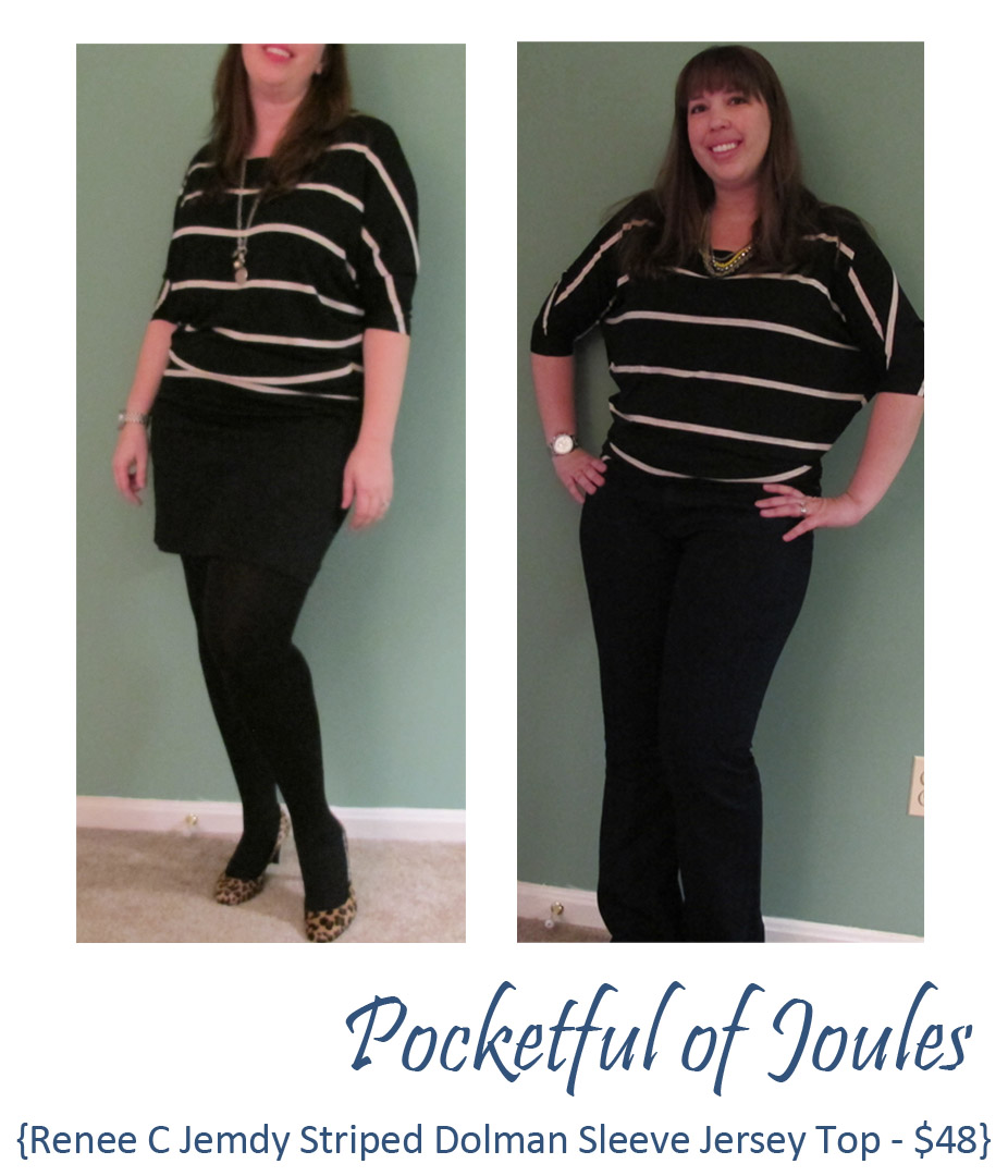 Stitch Fix Doman Top - November Fix