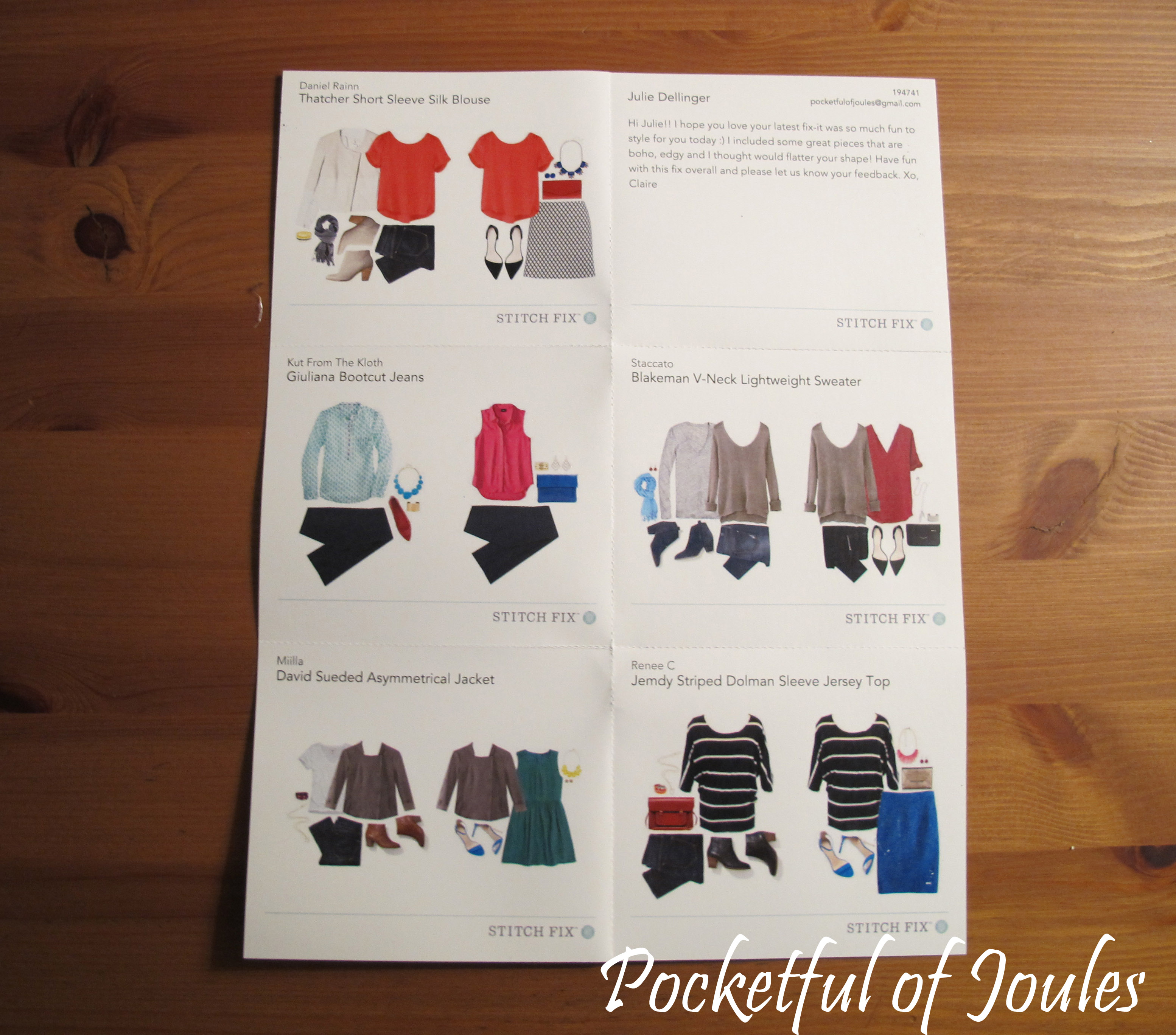 Stitch Fix - November style card