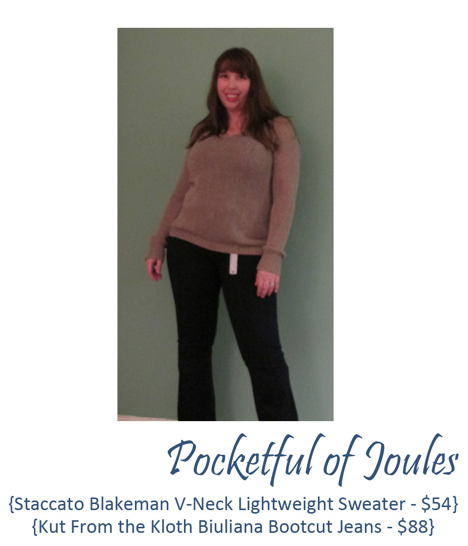 Stitch Fix sweater and jeans - November Fix